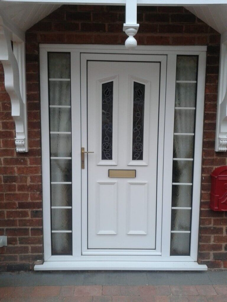 low priced 7cb29 2e6b0 white upvc front door and surround | in Worksop, Nottinghamshire | Gumtree