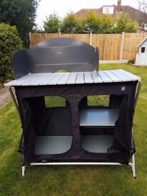 HiGear Elite Cupboard unit. Kitchen camping unit very good condition.