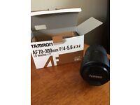 New Boxed Tamron AF70-300mm F/4-5.6