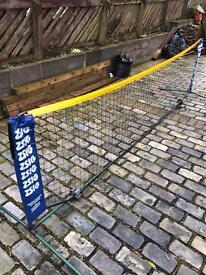Travel tennis net