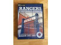 Rangers Football Coach Season 2001-2002 PC Game