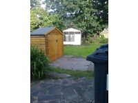 I have a wooden garden bike shed to sell