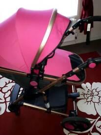 Pink pram