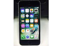 Apple iPhone 5S 16GB Factory Unlocked Mobile Phone BLACK + Warranty