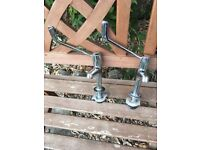Long reach kitchen taps for arts crafts elderly or disabled