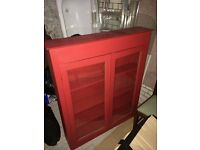 URGENT - Red display Cabinet