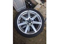 C class alloys,18 alloys,wheels,alloys,Mercedes alloys,