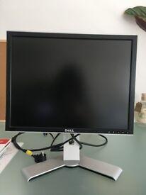 20 inch Dell computer monitor