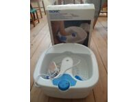 New Boxed Tronic Foot Spa