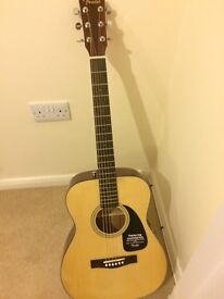 New Fender acoustic guitar for sale