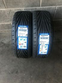2 x 195 45 16 TOYO PROXES T1R NEW TYRES