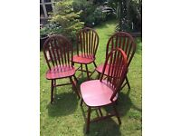 WOODEN CHAIRS £10.00 EACH