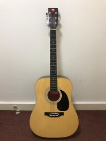 Pure Tone PT100N Full Size Acoustic Guitar