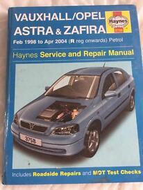 Haynes Astra/zafira