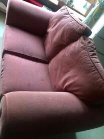 3 seater 2 seater set with footstool