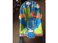 Baby/toddler chair rocking