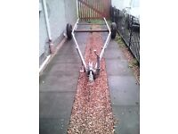 Galvanised caravan chassis would make great trailer or boat bike or plant trailer