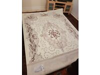 Cream wool rug for sale