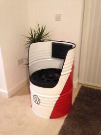 Vw camper oil drum seat