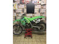 1988 Kawasaki kx125 restoration project