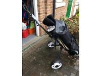 Golf Club set including trolley and accessories