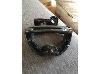 Ski goggles frame without glass