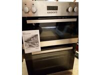 built in double oven and grill excellent condition