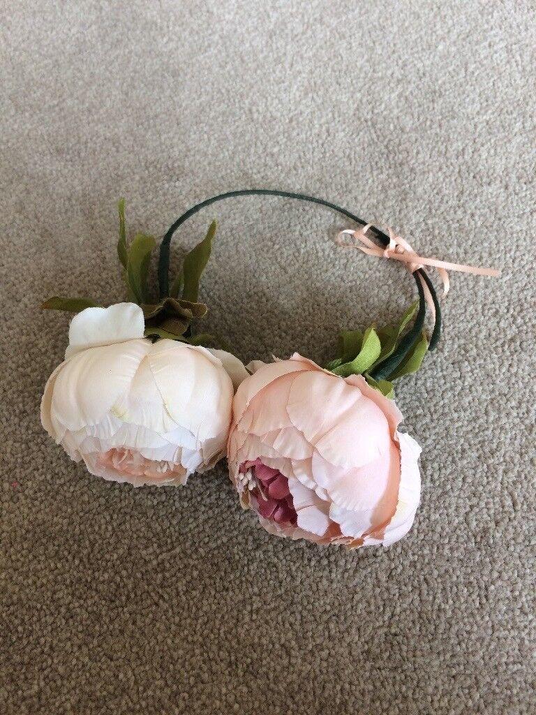 Little Girls Flower Crowntiara Wedding In Hethersett Norfolk