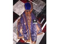 Limited Edition Stone Island Poly Cover Composite + Heavy Fleece in Orange Jacket (SIJK008)