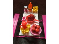 Barbie picnic set 30years old