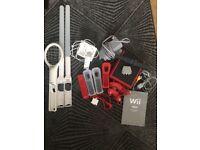 Wii mini console and accessories