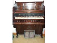 Late 19th century Parlour Organ in working condition but in need of a makeover