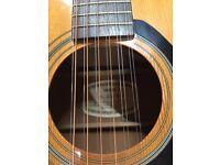 Yamaha 12 String Acoustic guitar