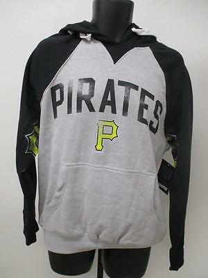 New Pittsburgh Pirates Mens Adult Sizes S/M/XL/2XL Gray Hoodie MSRP $75 - Pirates 2 Adult