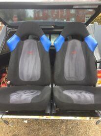 Subaru sti seats Rare