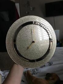 Glitter Gold Clock From Next