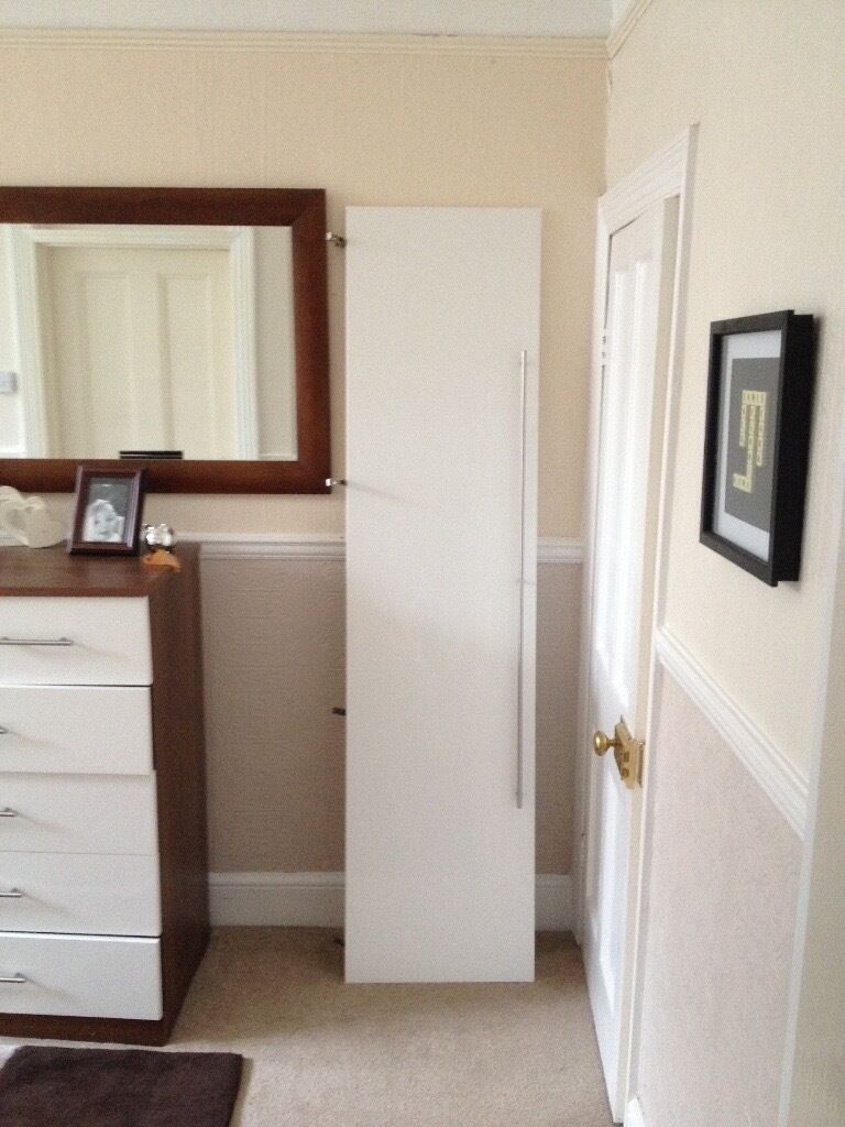 white glosss - Brand new IMMACULATE wardrobe / cupboard door bought ...