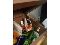 Wooden pirate chest/toybox
