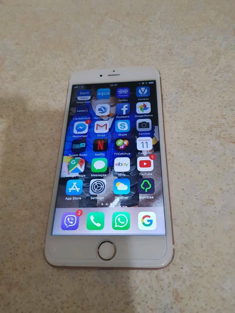 IPhone 6s Plus open to any network only 3 months old   in Farnworth,  Manchester   Gumtree