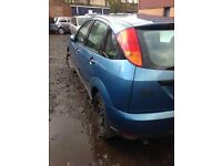 FORD FOCUS 1.8 PETROL ENGINE 2000 BREAKING FOR SPARES AND REPAIRS