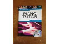 Piano tutor book