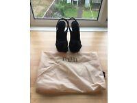 Faith Ladies black evening / Summer / Party Shoes