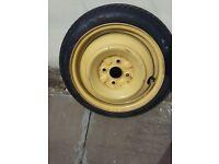 "14"" Car Tyre (Space Saver) Toyota Yaris"