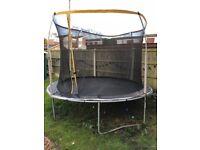 12ft trampoline £110 07376179188