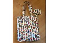 Cath Kidston bag with matching purse.