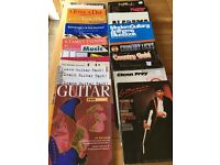 Music Books. Various. Guitar, Flute, Trumpet, Clarinet, etc FREE COLLECTION ONLY