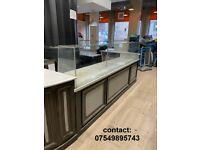 marble top counter
