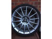 Alloys wheels 205/40zr17