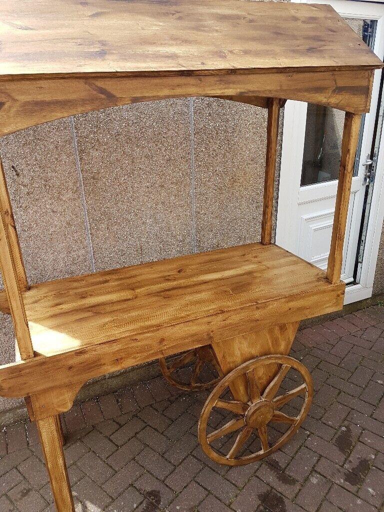 Wooden Sweet Cart In Broughty Ferry Dundee Gumtree