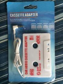 Cassette adapter for sale £3